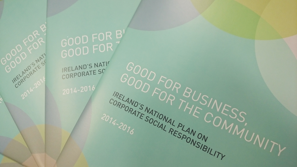 Covers of the National Plan on Corporate Social Responsibility